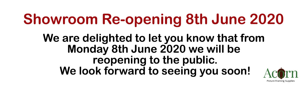 Reopening 8th June 2020
