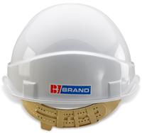 B-Brand Vented Helmet White