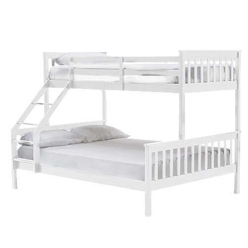 Salix Bunk Bed - 3' & 4'6 White