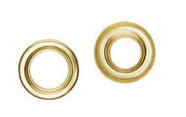 SP11mm Self Piercing Eyelet Brass Pk 500