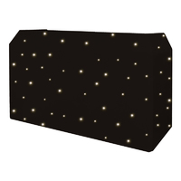 Equinox PRO DJ Booth LED Starcloth System, CW