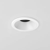 Minima IP65 Round White Bathroom Downlight | LV1702.0037