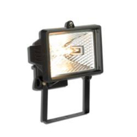 500WATT T/H FTG C/W LAMP BLACK