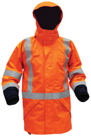 Arcguard Modacrylic Hi Vis TTMC-W Fire Retardant 36 Cal Anti-Static Rain Jacket 25,000mm