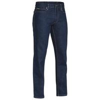 Bisley Industrial Straight Leg Denim Work Jeans 490gsm