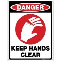 DANGER Keep Hands Clear