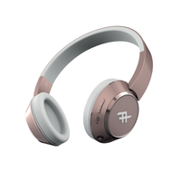 IFROGZ Coda Wireless Headphone With Mic Rose