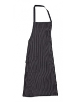 Chef Bib Apron Black Stripes (2pc pack) - 11P08H61