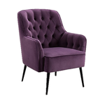 Miley Mulberry Chair