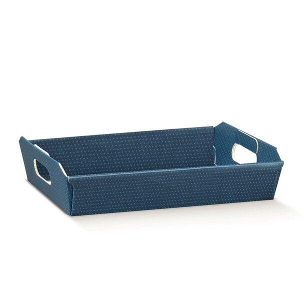 BOX TRAY BLUE SPOT DESIGN 310x220x90