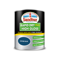 Sandtex Rapid Dry Gloss Oxford Blue 750ml