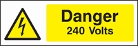 Warning and Electrical Hazard Sign WARN0002-1571