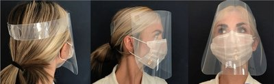 Protective Face Shield One Size (Pack of 10)