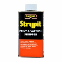 RUSTINS STRYPIT PAINT & VARNISH REMOVER 250ML