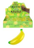 Squeezy Banana. 14cm.