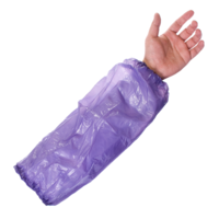 Disposable Polythene Sleeves Blue