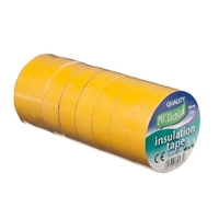 19mm x 20m Electrical PVC Yellow Tape
