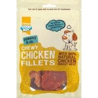 Good Boy Pawsley & Co. Dog Treats - Chicken Fillets 80g x 10