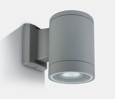 ONE Light Square Grey Surface Single diectional Wall Light IP54