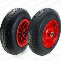 H1815 Red P-Handle Hand Truck Spare Wheel 10""