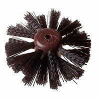 6'' 3 Row Drain Brush Plastic Stock Univ (A832) - 53021 (WT1290)