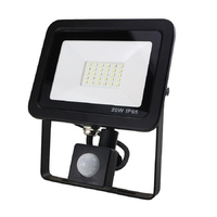 20W SMD AC Floodlight PIR 4 Wire 6000K