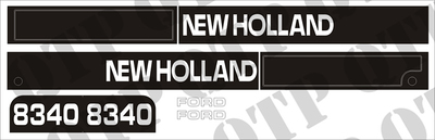 Decal Kit Ford NH 8340
