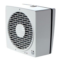 "Vortice Vario 9"" 225mm AR Window/Wall/Roof Fan"