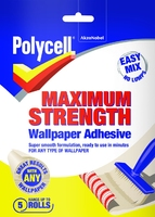 5143838 PU MAX STRENGTH W/P ADHESIVE 5 ROLL