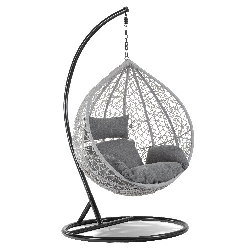 Dalia Santa Cruz Egg Chair - Grey Anthracite