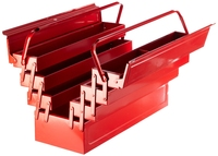 LASER Tool Box With Fold Out Trays  3487