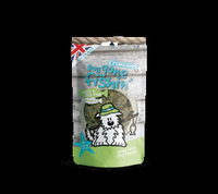 Dog Gone Fishin' White & Red Fish + Chamomile Crunchies 75g x 6