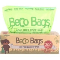 Beco Biodegradable Poop Bags - Dispenser 300 Bags x 1