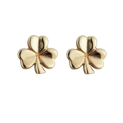 9K SHAMROCK STUD SMALL 11 MM POST
