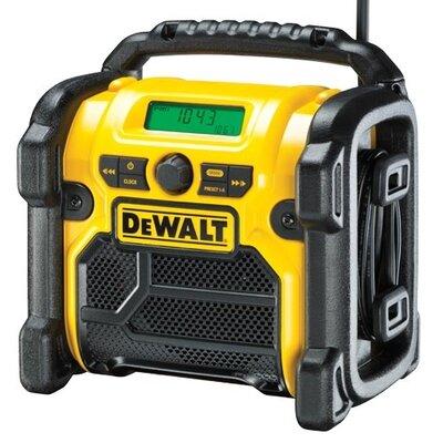 DEWALT DCR020 220V XR 10.8V/14.4V/18V  DAB(+)/FM  COMPACT DIGITAL RADIO