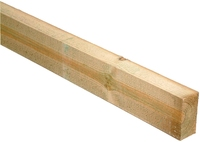 3.6m Timber Rail 150x47mm