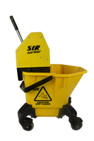 SYR Trad C20/C4 Mop Bucket & Wringer, Yellow