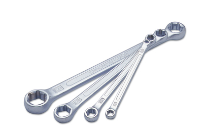 Star Double Ended Ring Spanner Set - 4 Pieces