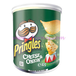 Pringles SMALL CAN Cheese & Onion x12