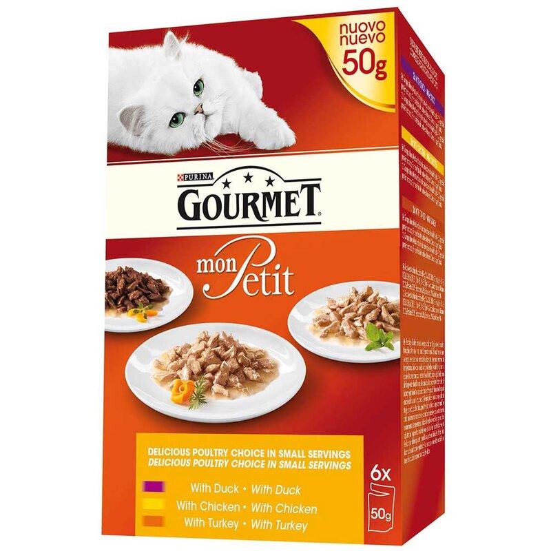 Gourmet Mon Petit Poultry Choice 8 x 6 x 50g