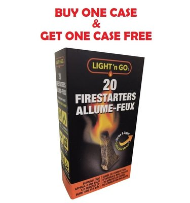 Light n Go Firestarters 20pk