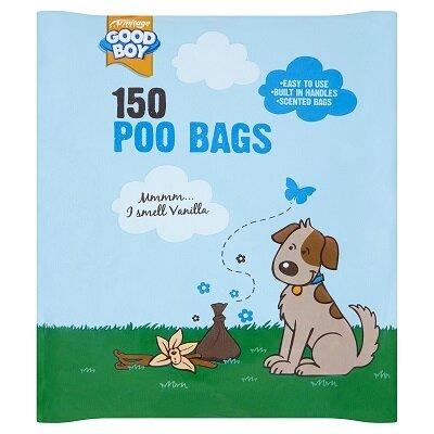 Good Boy Poo Bags 24 x 150