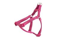"Ancol Padded Nylon Harness Small - Raspberry Pink 19"" x 1"