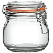 Preserving Jar 0.5 Litre