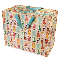 Zipped Shopper Bag Colourful Creatures