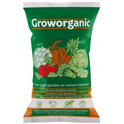 Vitax Groworganic 100% Natural Fertiliser 40lt