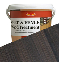 5L Protek Shed & Fence Wood Treatment Nut Brown