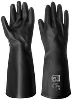 Prochem Rubber Gloves, 40 cm, Black