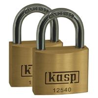 25MM TWIN PK PREMIUM BRASS LOCK (65
