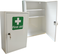 First Aid Metal Cabinet